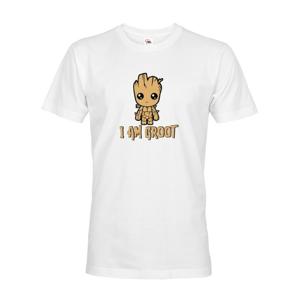 Pánské tričko Groot z filmu Strážci galaxie - Já jsem Groot na triku