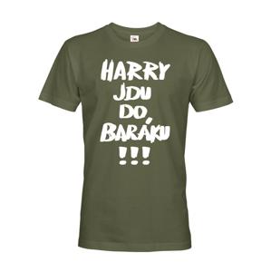 Pánske tričko Harry idem do domu!!! Tričko z filmu Sám doma