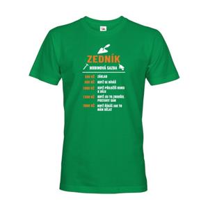 Pánské tričko - Hodinová sadzba murár