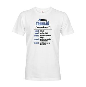 Pánské tričko - Hodinová sadzba stolára