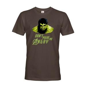 Pánske tričko Hulk 2 z týmu Avengers v celofarebnom prevedení