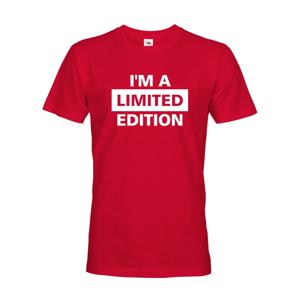 Pánske tričko I´a m limited edition - skvelé narodeninové tričko
