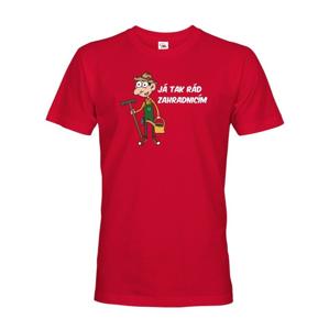 Pánské tričko Ja tak rad záhradkárčim