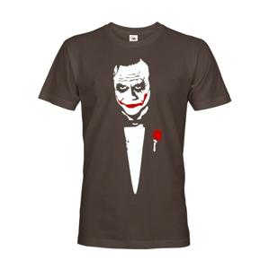 Pánske tričko Joker - superzloduch z DC komiksov na tričku