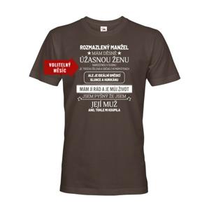 Pánske tričko k narodeninám - Rozmaznaný manžel