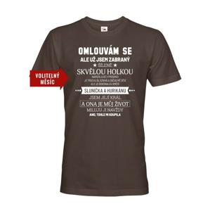 Pánske tričko k narodeninám - Už som zabraný