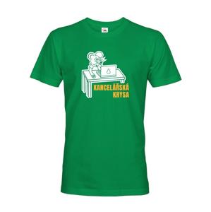 Pánske tričko Kancelárska krysa - ideálny darček k narodeninám