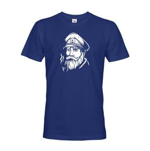Pánske tričko Kapitán -  tričko na vodu pre kapitána lode