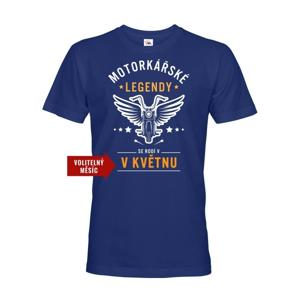 Pánske tričko Motorkárske legendy - ideálny darček k narodeninám