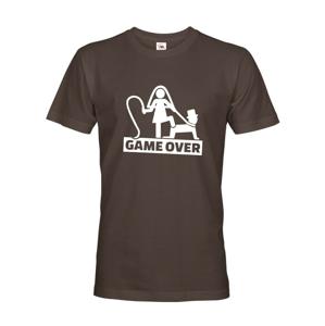 Pánske tričko na rozlúčku Game Over 3