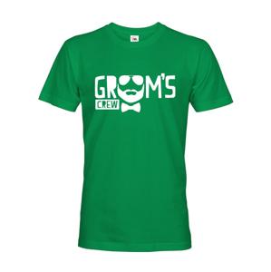 Pánske tričko na rozlúčku Grooms crew