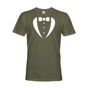 Pánske tričko na rozlúčku s motýlikom - ideálne párty tričko