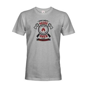 Pánské tričko- Nikdy neštvi hasiča