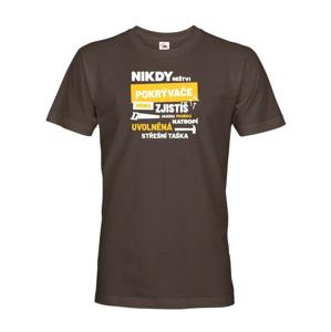 Pánské tričko- Nikdy neštvi pokrývača