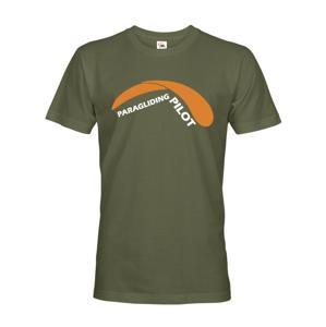 Pánské tričko - Paragliding Pilot