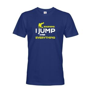 Pánské tričko - Parkour jump