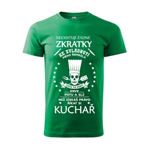 Pánske tričko pre kuchárov s vtipnou potlačou - originalita až na prvom mieste