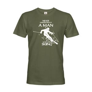Pánske tričko pre lyžiara nie len k narodeninám