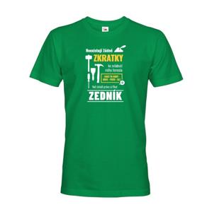 Pánské tričko pre murára - Neexistujú žiadne skratky