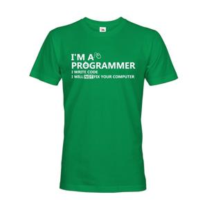 Pánske tričko pre programátorov Som programátor