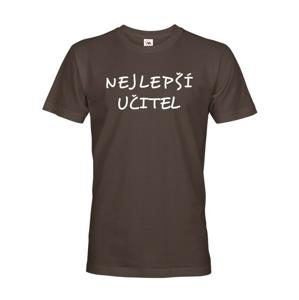 Pánské tričko pre učiteľa  s motivem Najlepší učiteľ