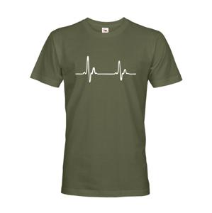 Pánské tričko pro doktory Pulz - ideální dárek k narozeninám nebo Vánocům