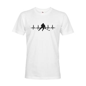 Pánske tričko Pulz hokejistu - ideálny darček pre hokejistu