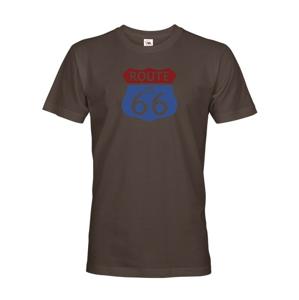 Pánské tričko Route 66 -legenda ciest