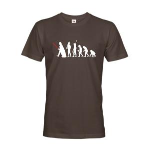 Pánské tričko s filmovým motivem evoluce Star Wars
