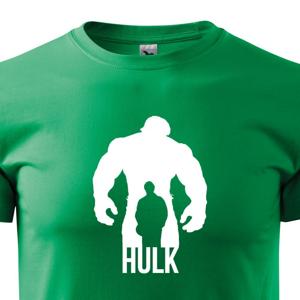 Pánské tričko s motivem oblíbeného seriálu Hulk