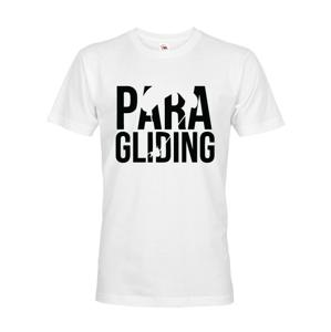 Pánské tričko s motivem paragliding - ideální dárek k Vánocům