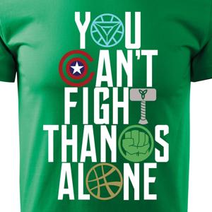 Pánske tričko s motívom Avengers 2 Infinity war