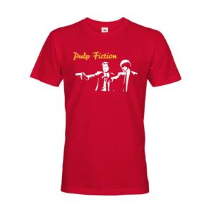 Pánske tričko s motívom filmu Pulp Fiction - tričko pre filmových fanúšikov
