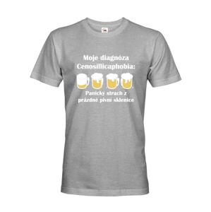 Pánske tričko s pivnou potlačou Diagnóza s dopravou len za 2,23 Euro