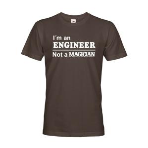 Pánské tričko s potiskem I am an engineer - dárek pro inženýra