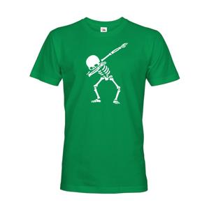 Pánské tričko s potiskem kostry - ideální triko pro teenagery