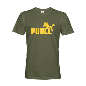 Pánské tričko s potiskem Pudel - ideální triko pro pejskaře