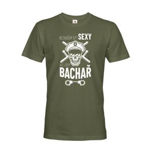 Pánske tričko Sexi Bachár - darček pre pracovníkov väzenskej služby