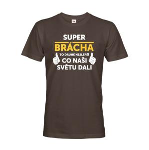Pánske tričko Super bráško - ideálny narodeninový darček pre brata