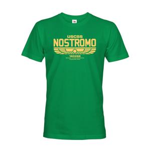 Pánske tričko USCSS Nostromo - motív z obľúbenej série Votrelec