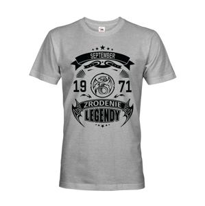 Pánske tričko Zrodenie legendy