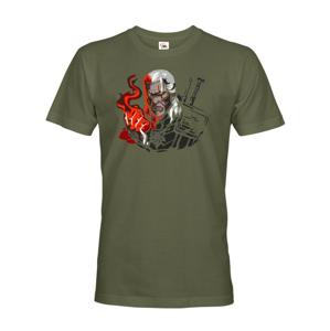 Pánské triko s motivem Zaklínač - Witcher - Geralt z Rivie