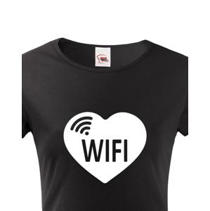 Párové tričká s potlačou Don't steal my WIFI a WIFI