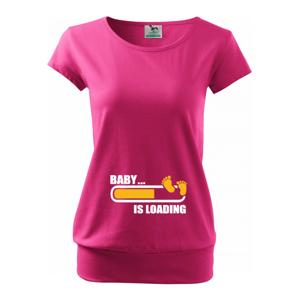 Těhotenské tričko pro budoucí maminky Baby... is loading