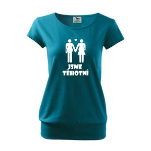 """Tričko pre tehotné """"Sme Tehotné"""" - ideální dárek pro nastávající maminku"""