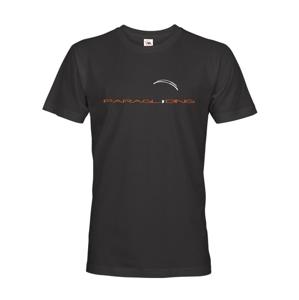 Tričko pro fanoušky paraglidingu 3 - ideální dárek na narozeniny