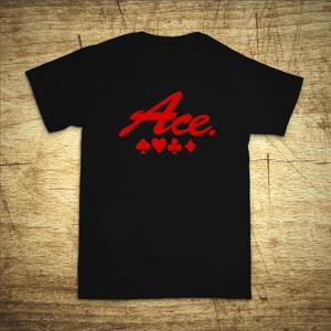 Tričko s motivem Ace