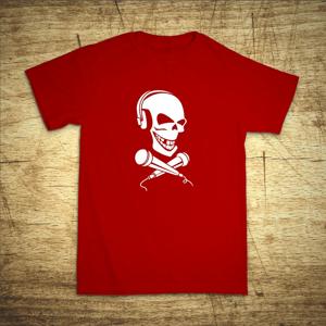 Tričko s motivem Dj Smrtka