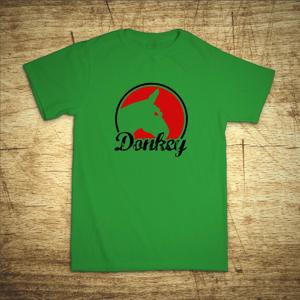 Tričko s motivem Donkey