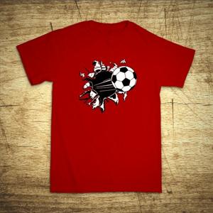 Tričko s motívom Futbal